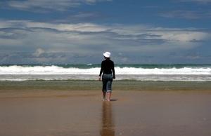 beach stroll by Matthew Bowden