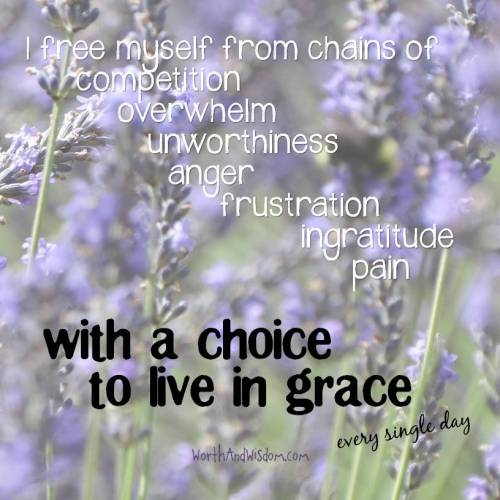 choice for grace